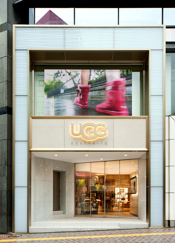 ugg boots shop in tokyo