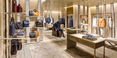 Nuova boutique Giorgio Armani a Saint Tropez.