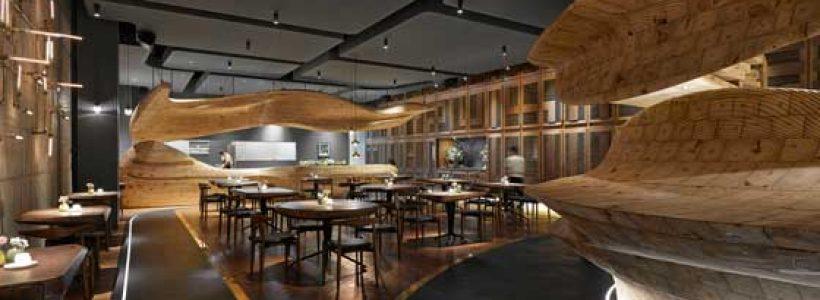 RAW RESTAURANT Taipei, la gastronomia incontra il design.