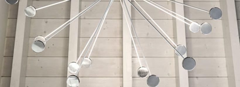 Le lampade di arredamento ICONE vestono di arte e design gli spazi interni degli ambienti più belli in Italia e nel mondo.
