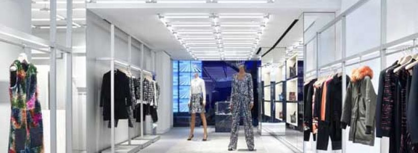 KENZO launches new store concept.