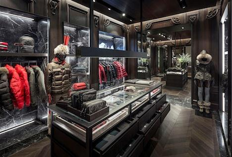 save off 50770 86a93 MONCLER opens new store in Boston | AN Shopfitting Magazine