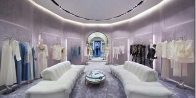 New image for La Perla boutique in the Dubai Mall.