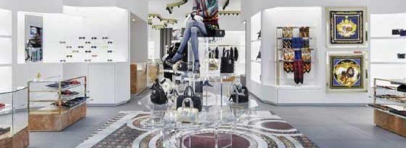 Versace apre a Berlino con un nuovo concept store