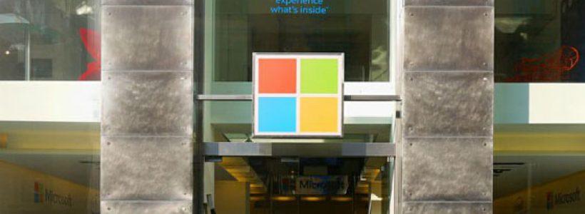 MICROSOFT apre un temporary store a Milano.