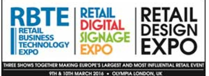 Retail Design Expo and Retail Digital Signage Expo 2016 to launch Innovation Trail and Awards – Sponsored by 20:20