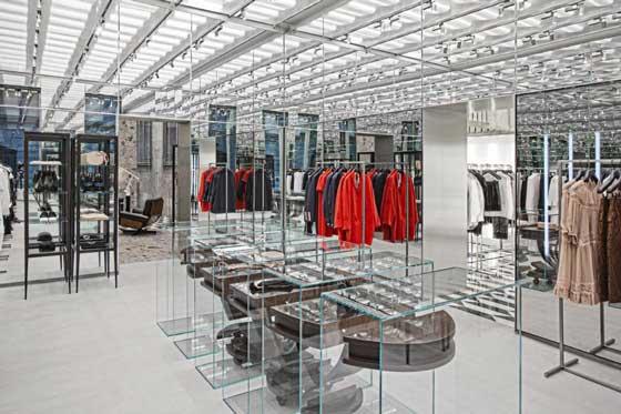 arredamento negozi boutique n21 porto cervo