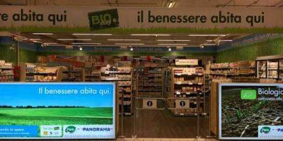 Pam Panorama inaugura a Roma il primo BIO Shop.