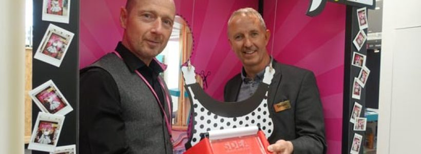 Stylo steals the show and wins SDEA best stand award.
