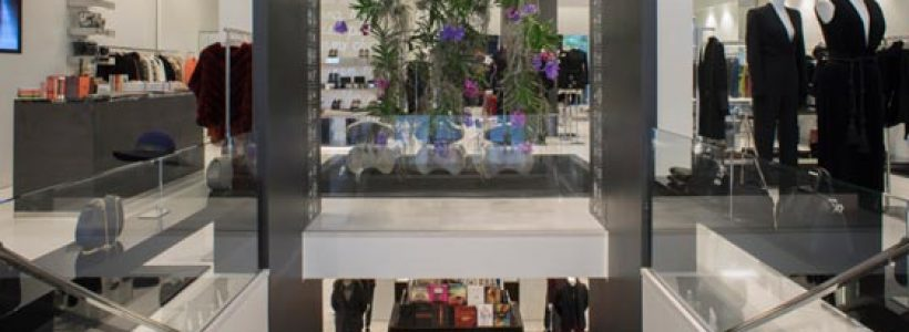 GIO MORETTI'S Boutique, Milan.
