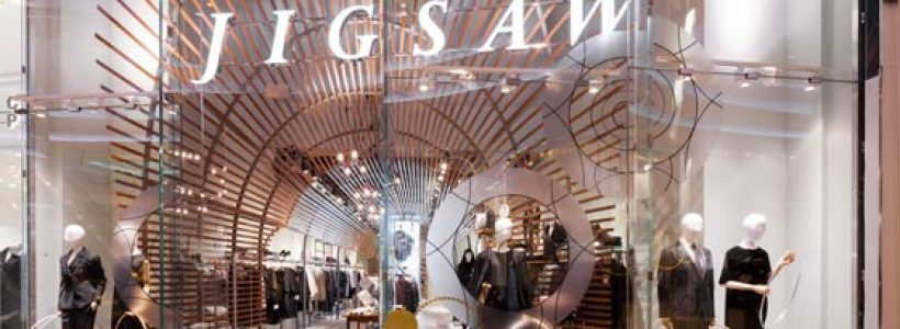 Jigsaw's new store at Westfield White City.