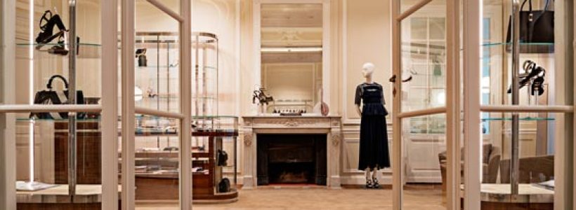 SALVATORE FERRAGAMO is reopening the extended and fully renovated flagship store.on Avenue Montaigne in Paris.