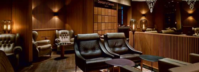 DAVIDOFF, most prestigious Flagship Store and Lounge in Downtown Manhattan.