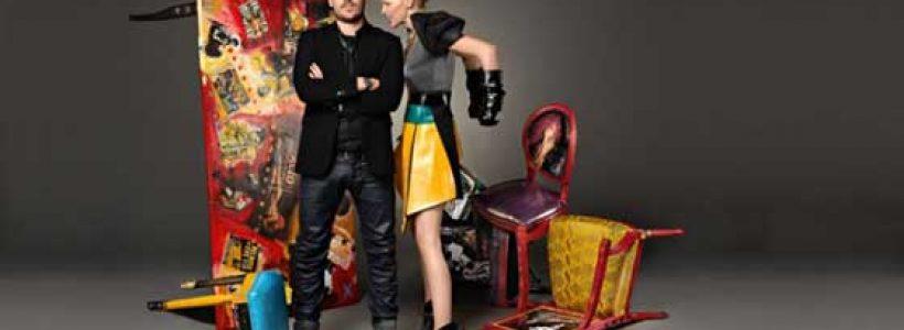 Alex Modonutti lancia Am-Art, il suo nuovo brand di arredamento di design, in vendita anche nel sito ufficiale di Fabrizio Corona.