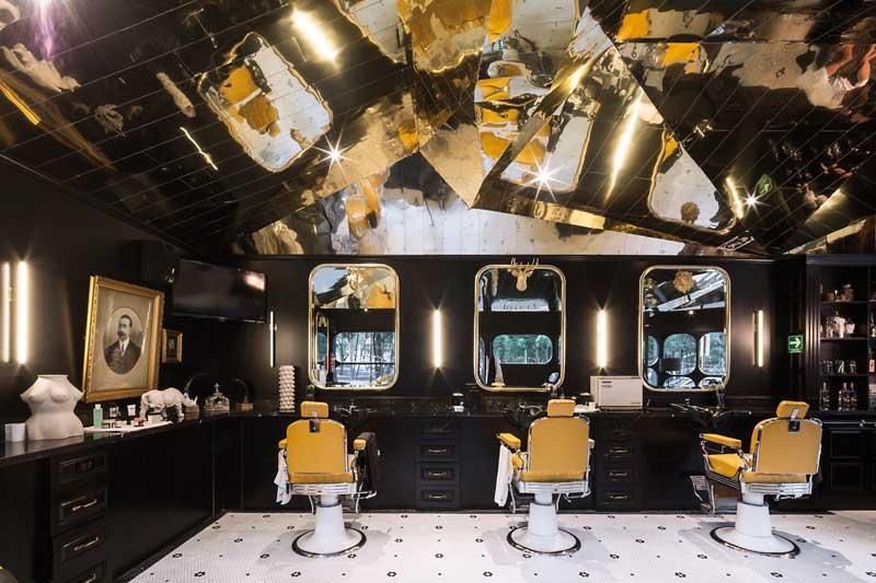 Retail design Barberia Royal Row Studio