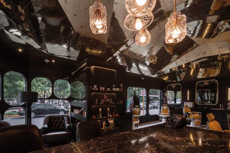 Retail design Row Studio Barberia Royal Città del Messico