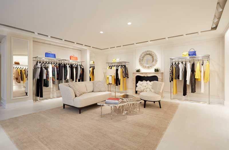 Escada concept store The Lounge