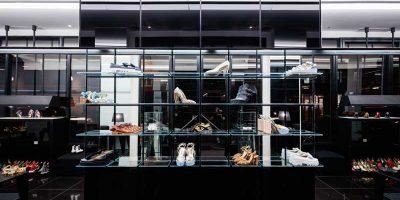 Nel cuore di Parigi Linea Light Group illumina la boutique Walter Steiger