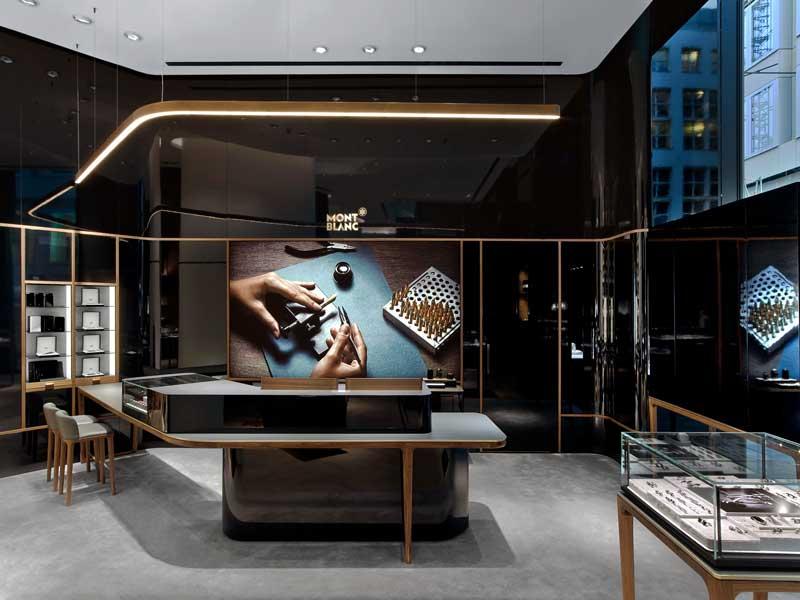 Montblanc concept store