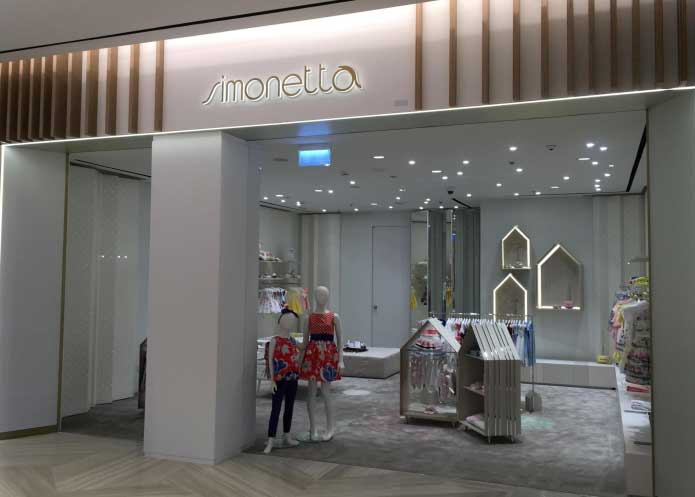 Simonetta boutique Level Kids Dubai