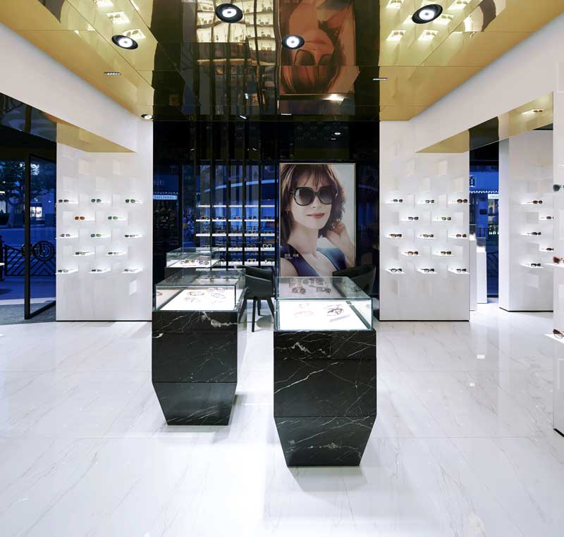 RETAIL DESIGN Ippolito Fleitz Group Ottica BOLON Shanghai
