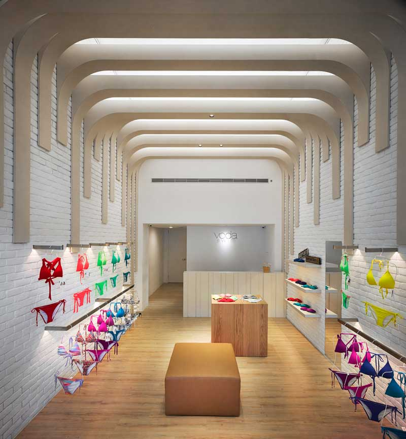 MW design Michelle Wei Voda store