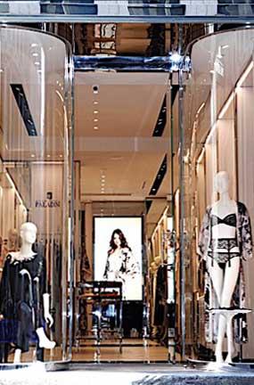 Paladini Lingerie flagship store Milano