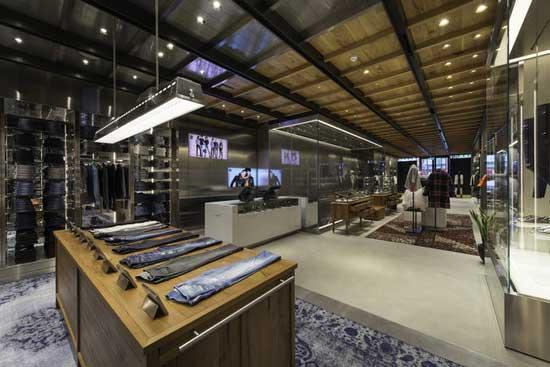 Diesel flagship store Londra