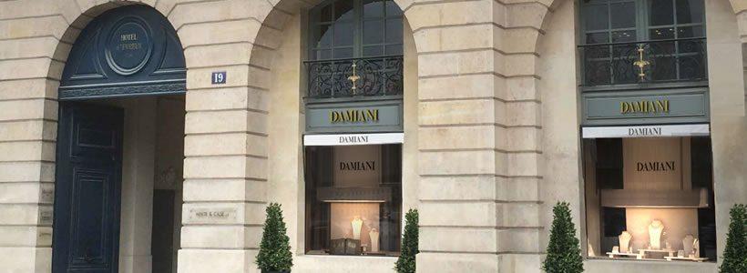 DAMIANI apre in Place Vendome a Parigi