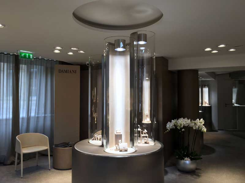 Damiani boutique place vendome parigi