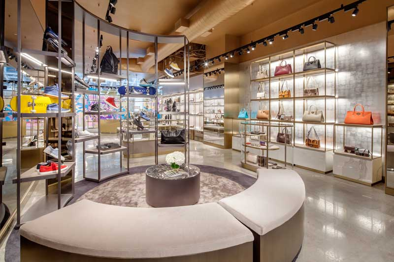 CHRISTIAN LAHOUDE STUDIO Jimmy Choo boutique