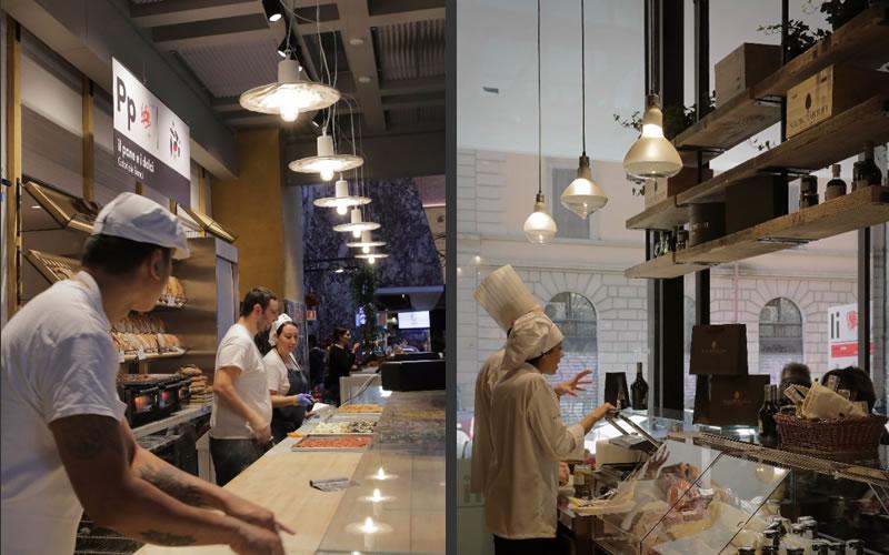 Karman illuminazione Mercato Centrale Roma