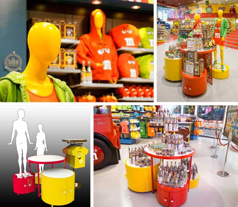Global-Display M&M's visual communication