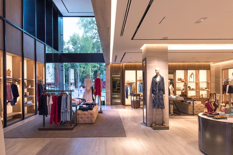 MASSIMO DUTTI flagship store Città del Messico