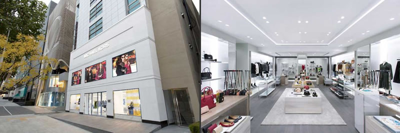 Michael Kors flagship store seoul