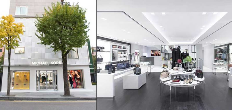Michael Kors life style store seoul