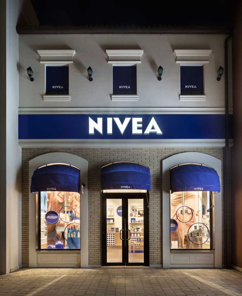 Nivea Shop Matteo Thun & Partners