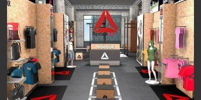 """REEBOK Experience: a Milano un temporary store per """"mettersi alla prova"""" ."""