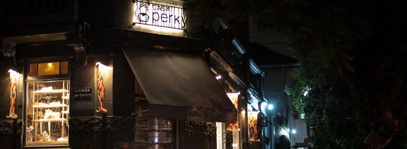 ARCH. DIEGO MARQUES DA ROCHA designed the CASA PERKY flagship store in Porto Alegre.