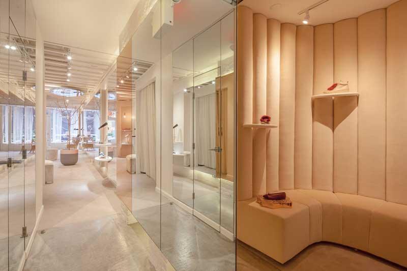 Christian Lahoude retail design Josefinas flagship store