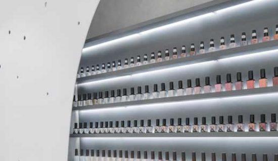STUDIO ARCH progetta il centro estetico LILY NAILS di Pechino.