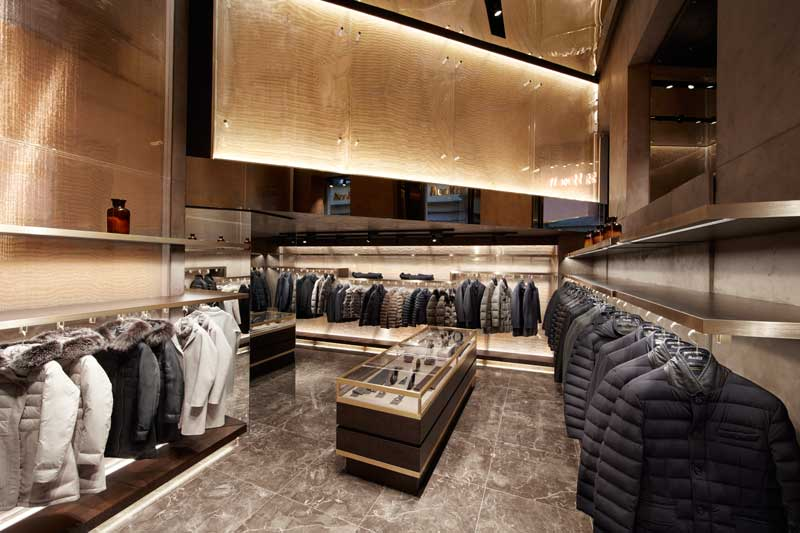 retail design moorer flagship store