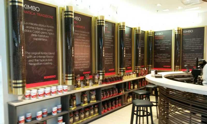 Kimbo concept store Fiumicino