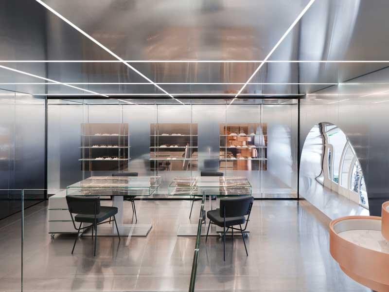 Retail design Repossi flagship Paris