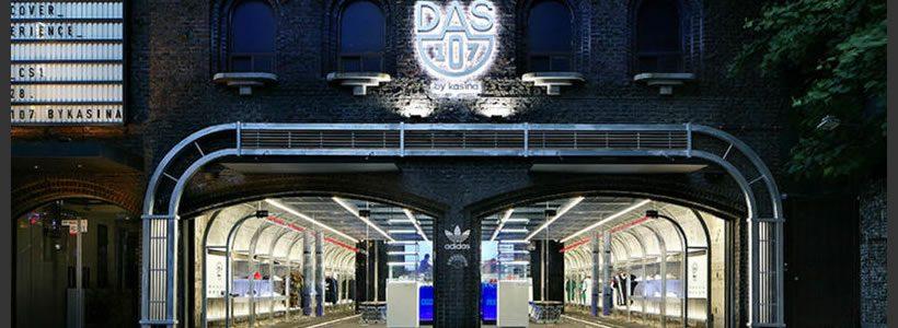 DAS 107, il nuovo concept store adidas.