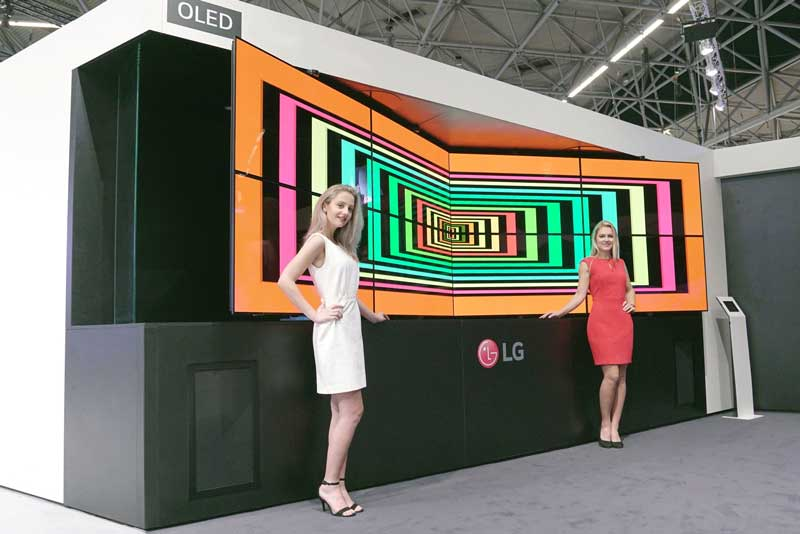 digital signage LG