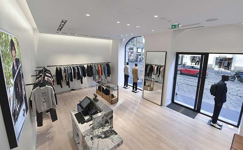 Sandro boutique Milano
