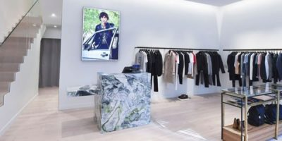 SANDRO: a Milano la prima boutique italiana dedicata all'uomo.