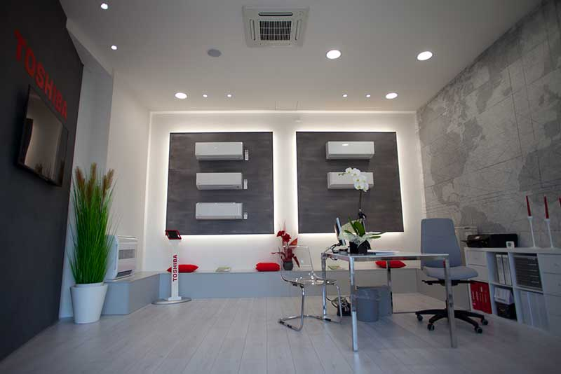 Toshiba new concept store