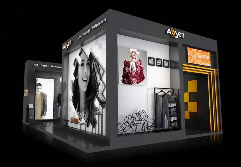 ABSEN led displays euroshop 2017
